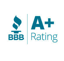 BBB logo with A+ Rating for Mullen Insurance Agency
